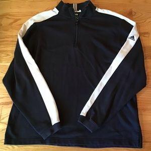 Men's Half Zip Addidas Sweatshirt